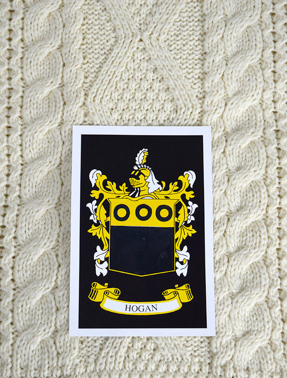 Hogan Clan Aran Throw