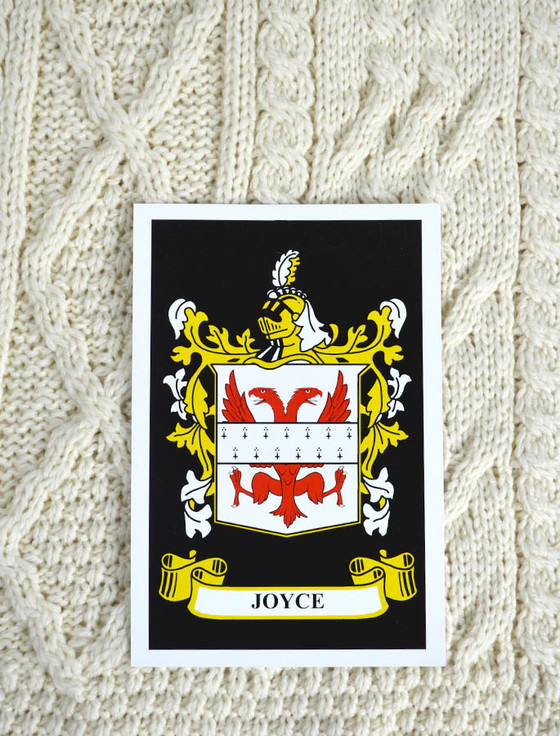 Joyce Clan Aran Throw