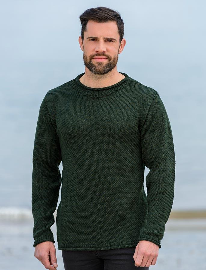 1c72d136250 Merino Roll Neck Sweater
