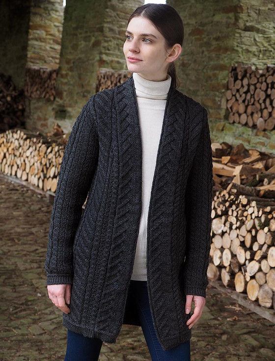 Super Soft Open Aran Cardigan