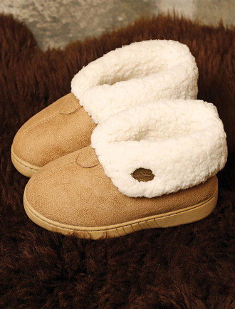 Kid's Irish Fleece Lined Slippers