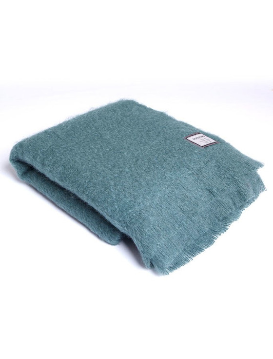 Mohair Throw - Studio Green