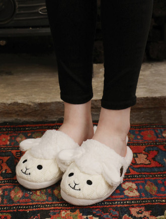 Sheep Slip-On Adult Slippers