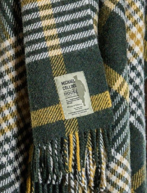 Michael Collins Throw - Historic Reproduced Travel Blanket