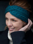 Supersoft Merino Crossover Headband - Irish Sea