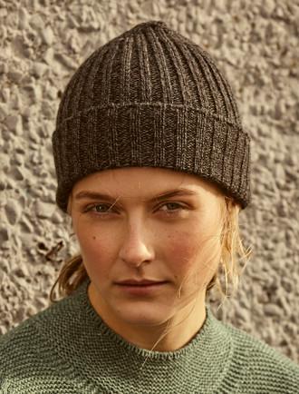 ac2d2b5f91db1 Ribbed Merino Wool Hat - Anthracite