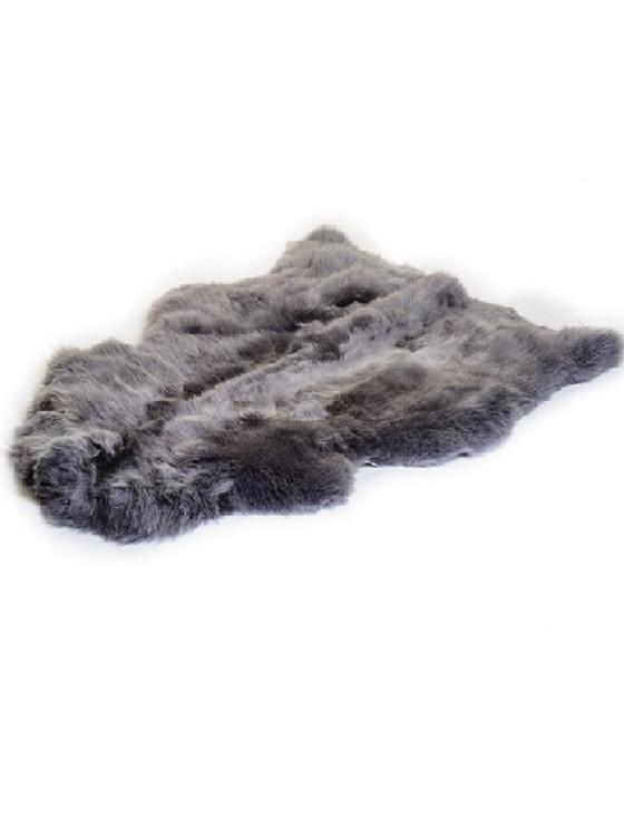 Irish Sheepskin Rug - Charcoal