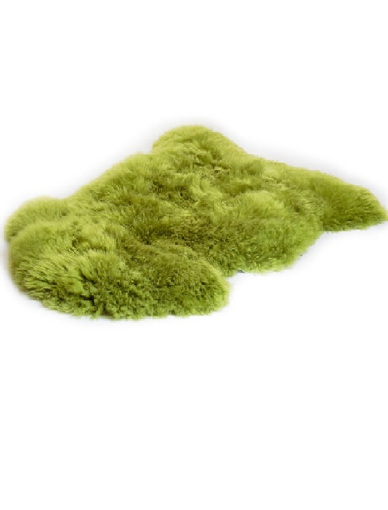 Irish Sheepskin Rug - Green