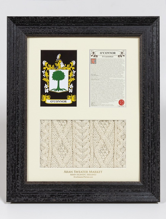 O'Connor Clan Aran & History Display
