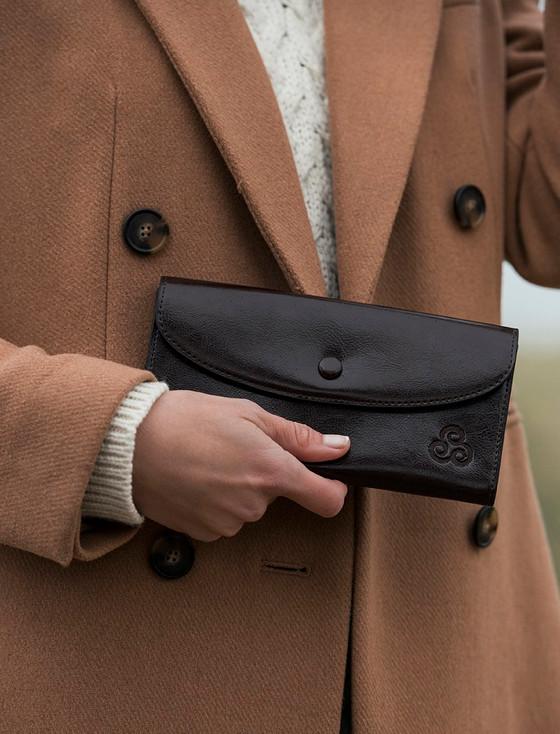 Leather Purse - Turf