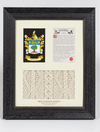 Dowling Clan Aran & History Display