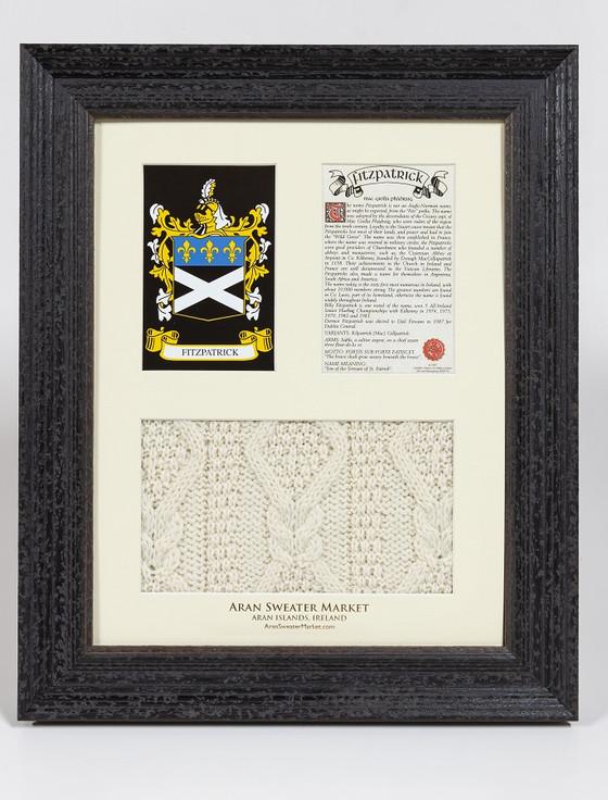 Fitzpatrick Clan Aran & History Display