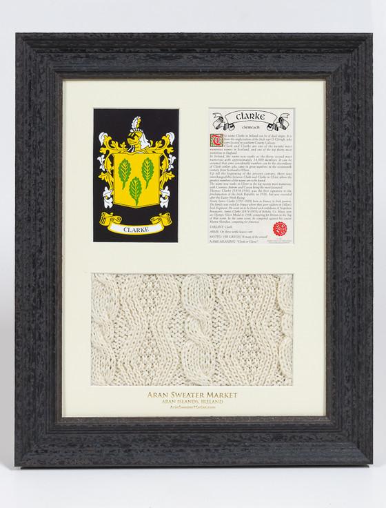 Clarke Clan Aran & History Display
