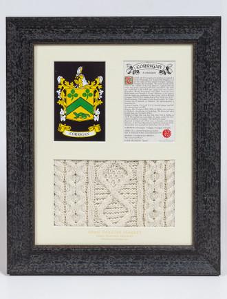 Corrigan Clan Aran & History Display