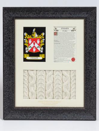 Cullen Clan Aran & History Display