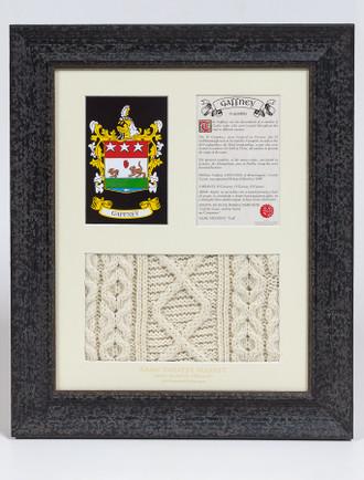 Gaffney Clan Aran & History Display