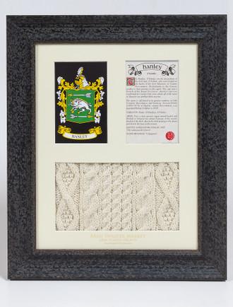 Hanley Clan Aran & History Display