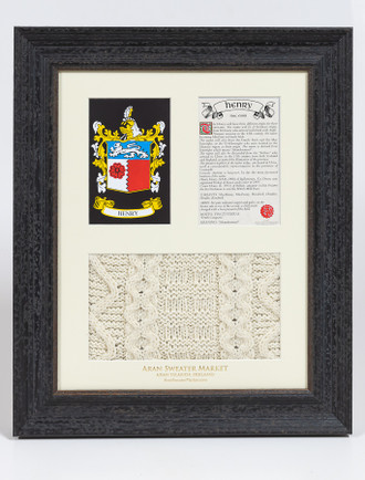 Henry Clan Aran & History Display