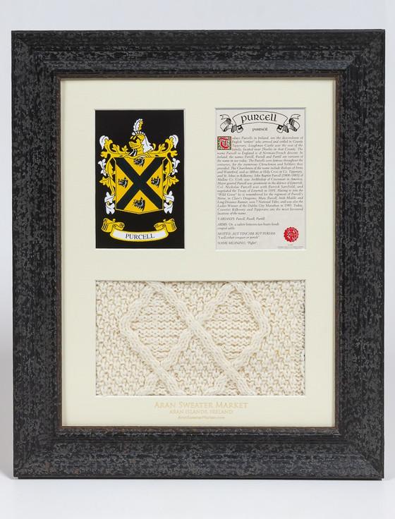 Purcell Clan Aran & History Display