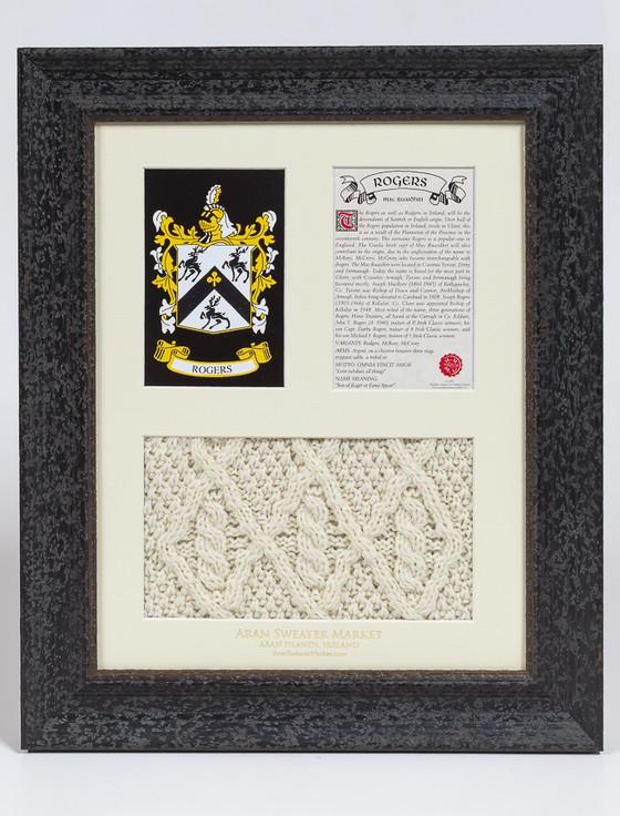 Rogers Clan Aran & History Display