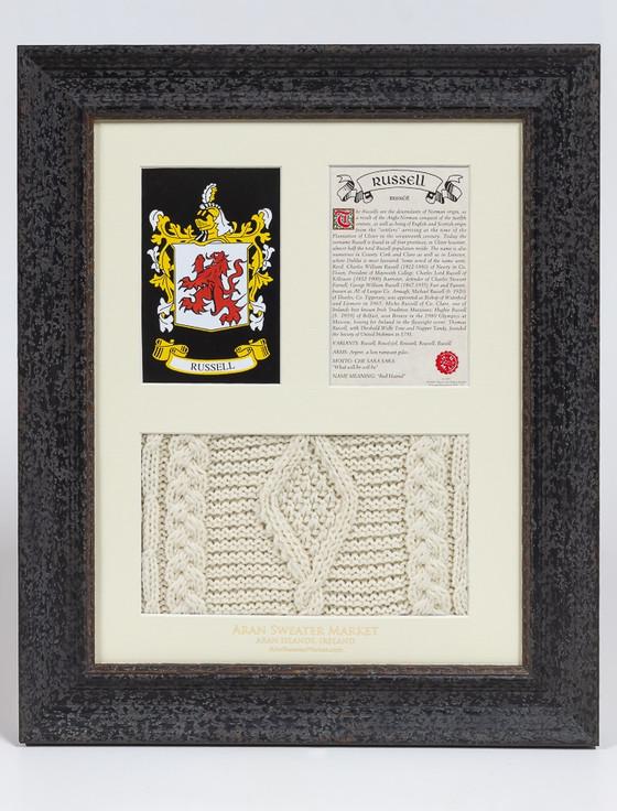 Russell Clan Aran & History Display