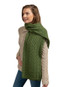 Super Soft Tree of Life Scarf - Meadow Green