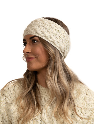 Super Soft Tree of Life Headband - Classic Aran