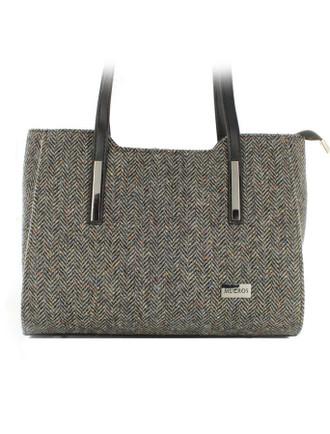 Brid Tweed Bag - Grey