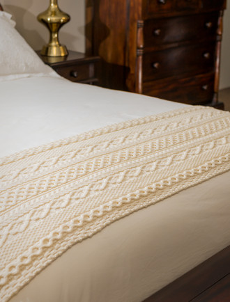 Moran Clan Aran Bed Runner