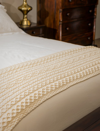 Daly Clan Aran Bed Runner