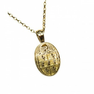 Murphy Clan Official Oval Pendant 10K Gold