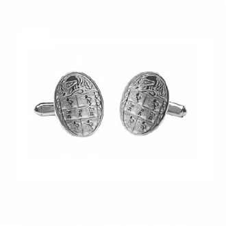 Murphy Clan Official Medium Cufflinks Sterling Silver