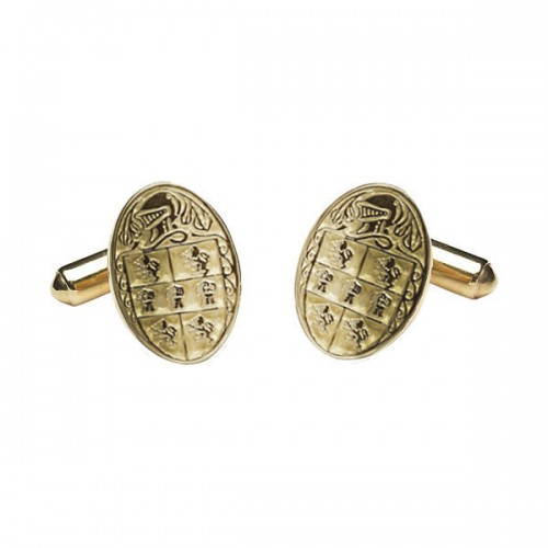 Murphy Clan Official Medium Cufflinks 10K Gold