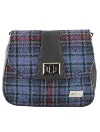 Sarah Tweed Bag - Blue & Red Plaid