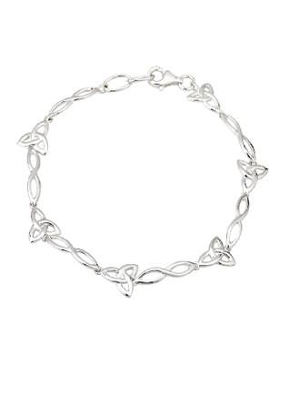 Celtic Style Trinity Knot Bracelet