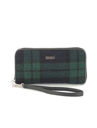 Mucros Tweed Purse -Blackwatch