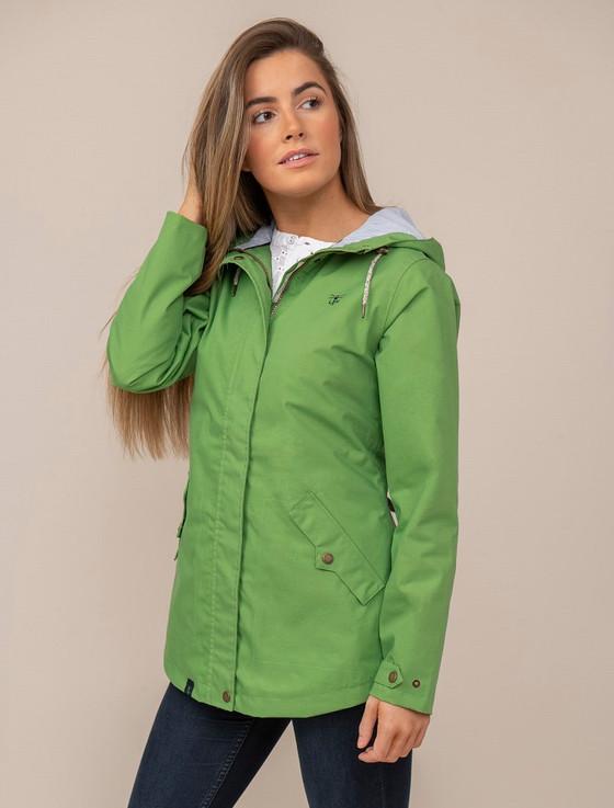 Tori Ladies Waterproof Coat - Meadow Green