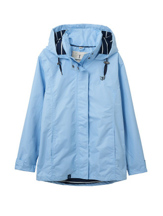 Beachcomber Ladies Waterproof Coat - Bluebell