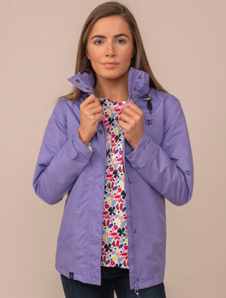 Benan Ladies Waterproof Coat - Lilac