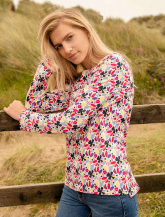 Causeway Long Sleeved T-Shirt - Floral