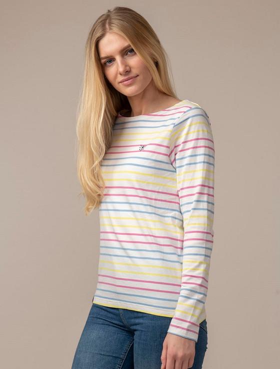 Causeway Long Sleeved T-Shirt - Multi-Stripe