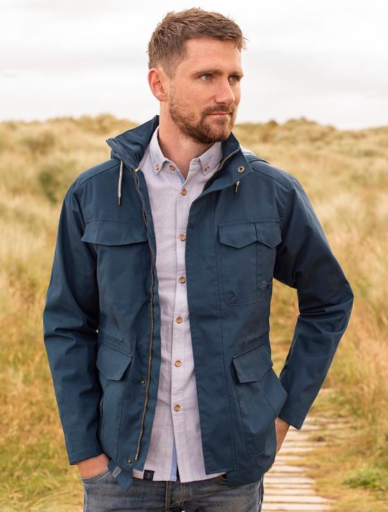 Grayson Men's Waterproof  Country Jacket - Midnight