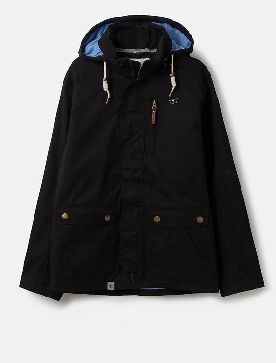 Islander Men's Waterproof  Country Jacket - Black