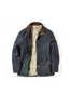 Carrickfergus Men's Waxed Jacket - Navy