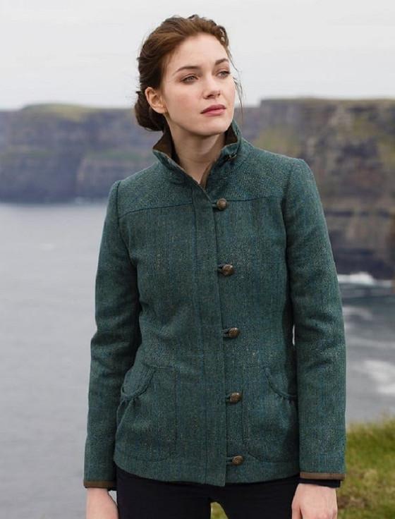 Bracken Ladies Tweed Jacket - Mist