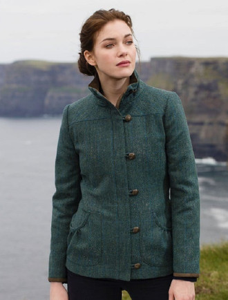 Bracken Ladies Tweed Jacket - Mist