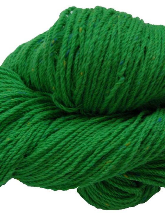 Aran Wool Knitting Hanks - Emerald Green