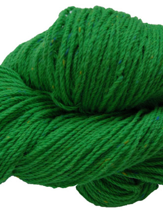 Aran Wool Knitting Hanks - Emerald Green