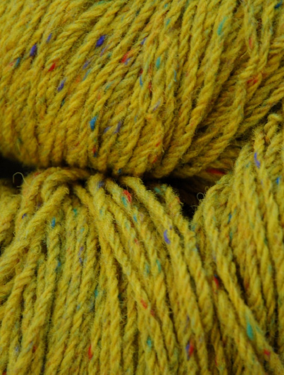 Aran Wool Knitting Hanks - Kerry Gold