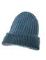 Men's Ribbed Super Soft Merino Wool Hat - Irish Sea
